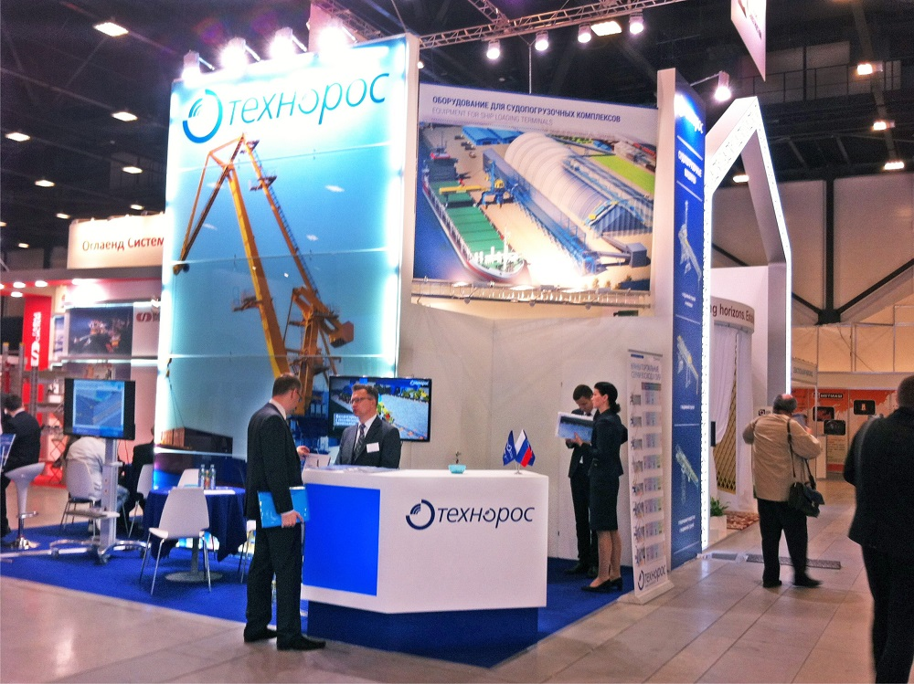 Booth of Tehnoros Group of companies
