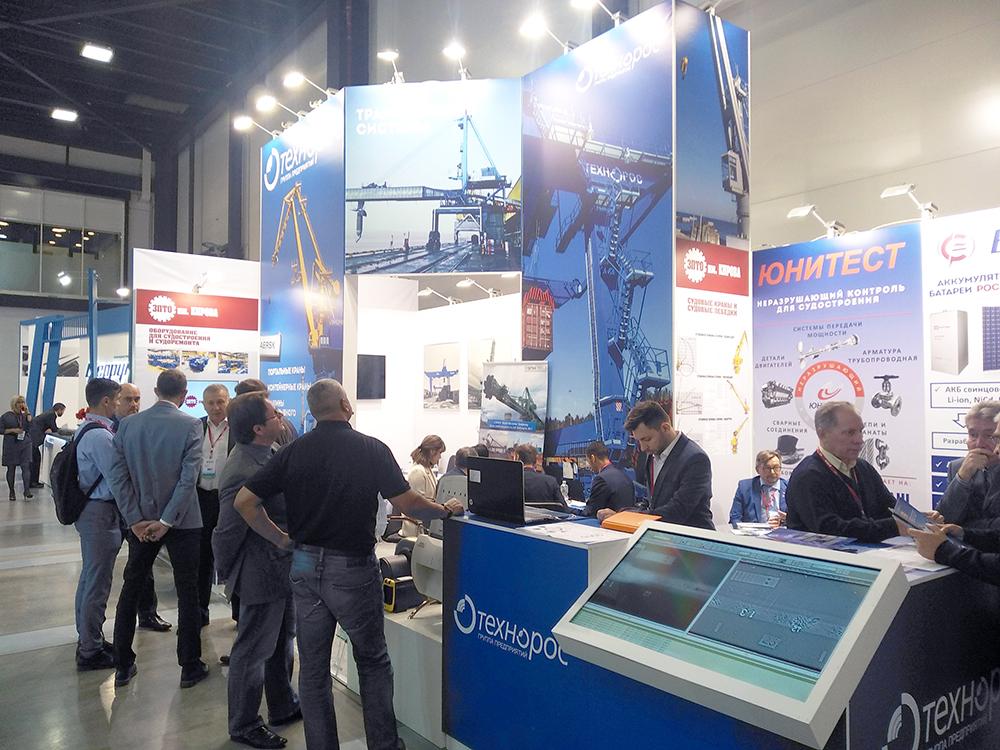 ПО Технорос приняло участие в выставке Нева-2019